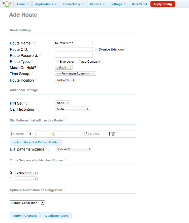 Asterisk Admin GUI v2 11 Configuration and Review