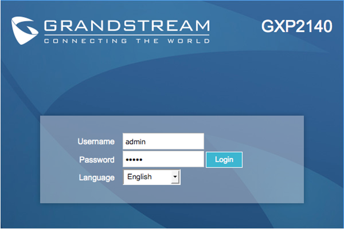 Grandstream GXP2140 Configuration and Review