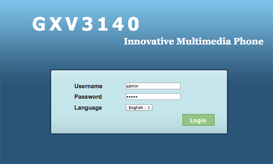Grandstream GXV3140 Configuration and Review
