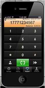 Callcentric iPhone Callback App